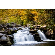 Фотообои - Осенний водопад