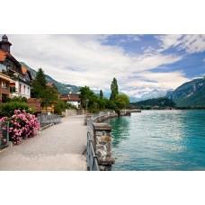 Фотообои - Озера Швейцарии