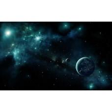 Фотообои - Темный космос