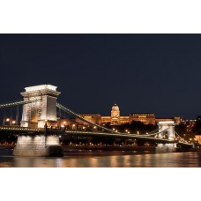 Фотообои - Будапештский цепной мост