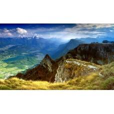 Фотообои - Горный пейзаж