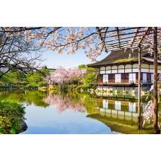 Фотообои - Японский дом