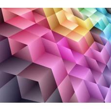 Фотообои - Цветные примитивы