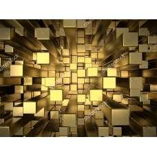 Фотообои - Трехмерные куба