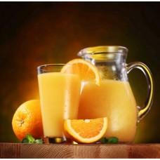 Фотообои - Апельсиновый сок