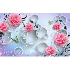 Фотообои - Красные розы
