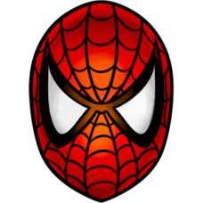 ЧБ Раскраски - Человек паук