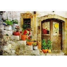 Фотообои - Цветочные вазы