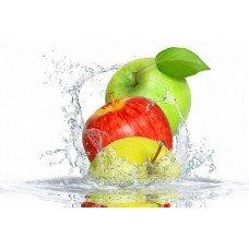 Фотообои - Яблоки в воде