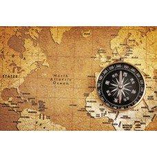 Фотообои - Навигационная карта