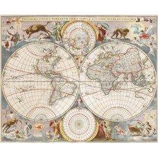 Фотообои - Карта мира