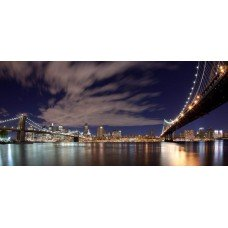 Фотообои - Город Мост