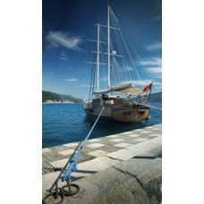 Фотообои - Корабль у пристани
