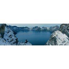 Фотообои - Застывшее озеро