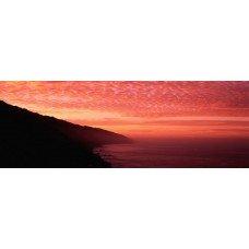 Фотообои - Закат над морем - фотообои