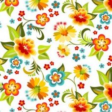 Фотообои - Узор из цветов