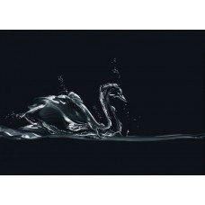 Фотообои - Ледяной лебедь