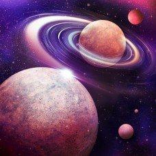 Фотообои - Вращение планет