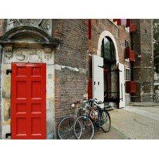 Фотообои - Город для велосипедистов