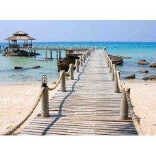 Фотообои - Заброшенный пляж