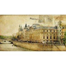 Фотообои - Почтовая открытка - Стилизация
