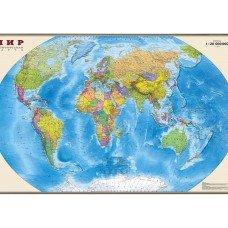 Фотообои - Политическая карта мира
