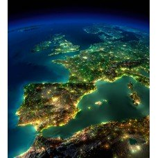 Фотообои - Вид из космоса