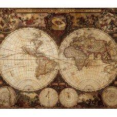 Фотообои - Старинная карта