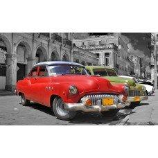 Фотообои - Куба ретро автомобили