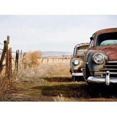 Фотообои - Старые американские авто