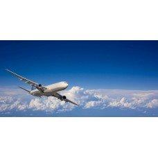 Фотообои - Самолет в небе