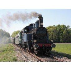 Фотообои - Старинный поезд