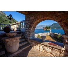 Фотообои - Лестница на балкон