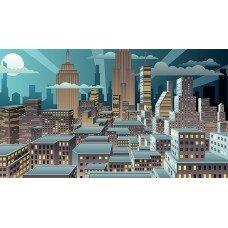 Фотообои - Городская иллюстрация