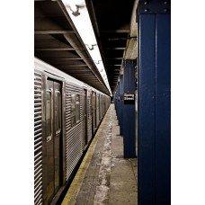 Фотообои - Поездка в метро