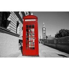 Фотообои - Телефонная будка