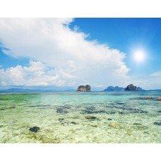 Фотообои - Прозрачная вода