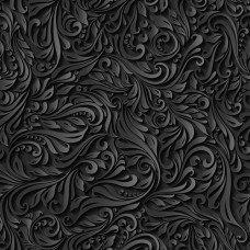 Фотообои - Черные узоры