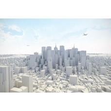 Фотообои - Белый город