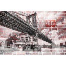 Фотообои - Ретро мост