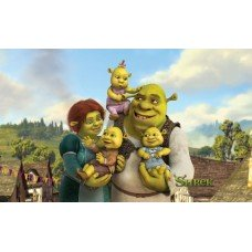 Фотообои - Шрек и его семья