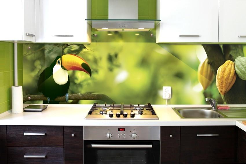 Скинали из МДФ - кухонные панели, фартук для кухни с рисунком