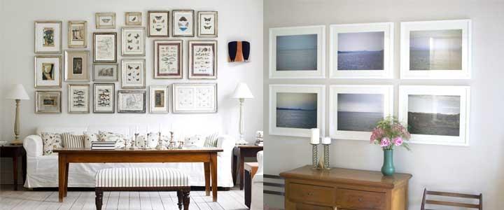 Как правильно повесить картины в квартире